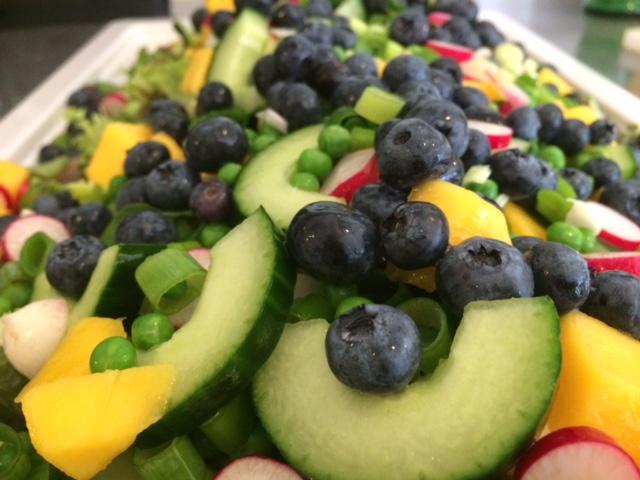 salat med mango og chili